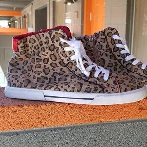 Leopard High Tops